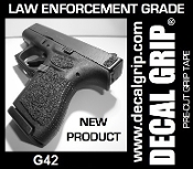 DECAL GRIP FITS G42 SAND TEXTURE