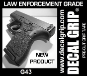 DECAL GRIP FITS G43 SAND TEXTURE